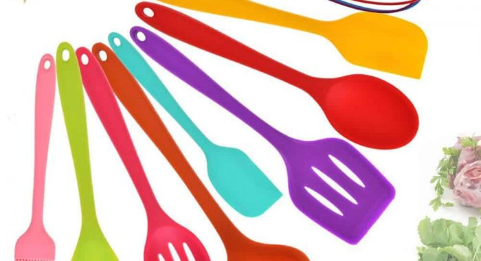 10-Pcs-Set-Kitchen-Utensils-Set-Silicone-Cooking-Tools-Colorful-Spatula-Pasta-Server-Whisk-Ladle-Strainer