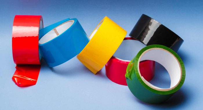 Rolls of insulation adhesive tape; multicolored isolating tape